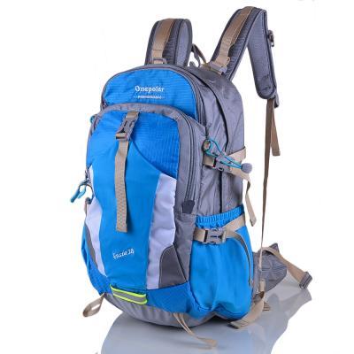Женский треккинговый рюкзак ONEPOLAR (ВАНПОЛАР) W1729-blue Onepolar