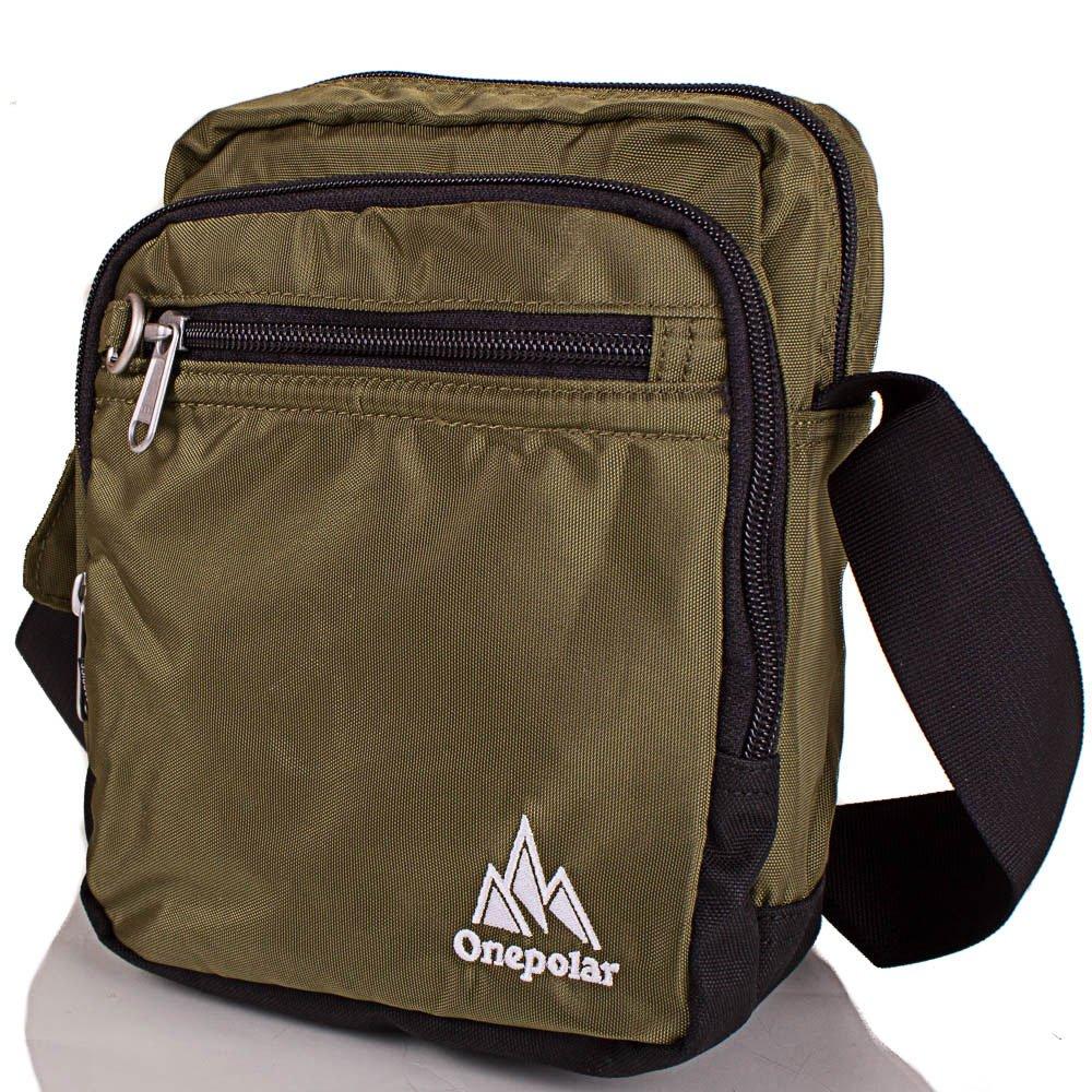 Мужская спортивная сумка ONEPOLAR (ВАНПОЛАР) W5053-green Onepolar