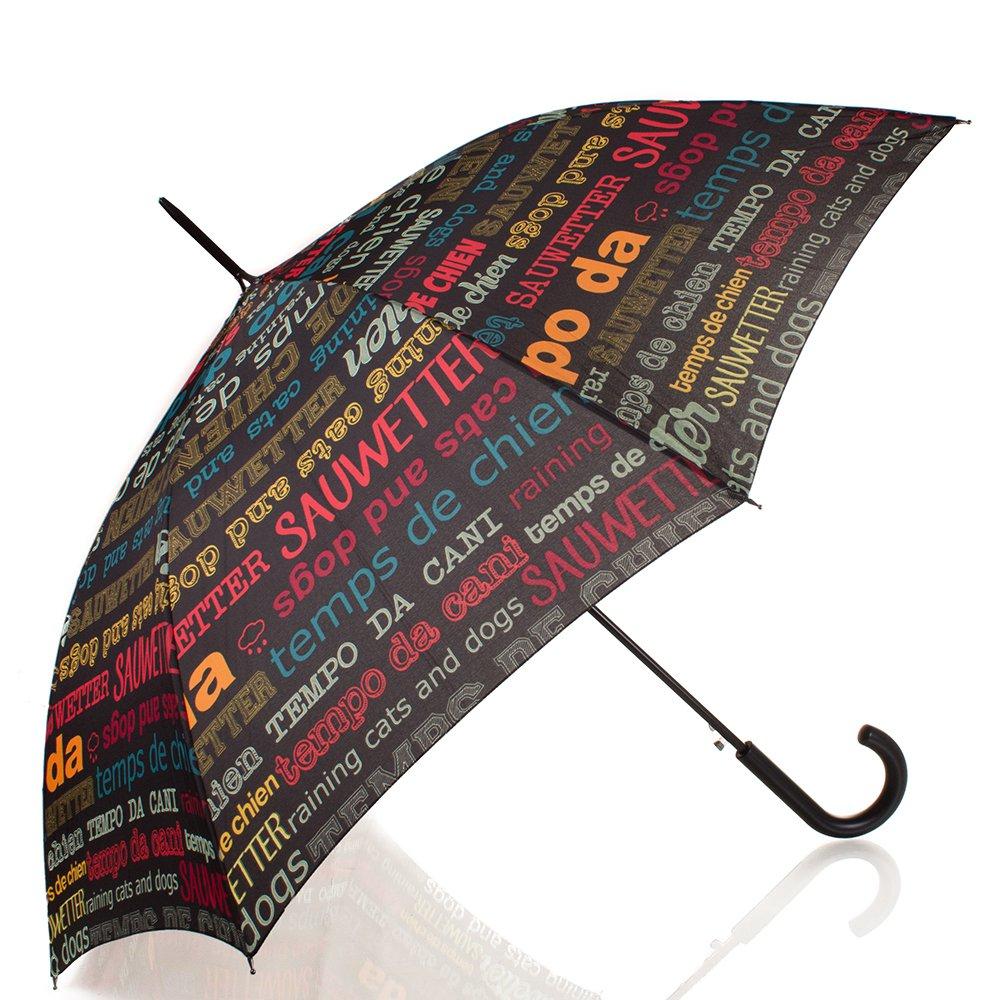 Зонт-трость женский полуавтомат HAPPY RAIN (ХЕППИ РЭЙН) U41085-1 Happy Rain