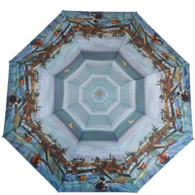 Зонт женский компактный полуавтомат ZEST (ЗЕСТ) Z24665-5028 Zest