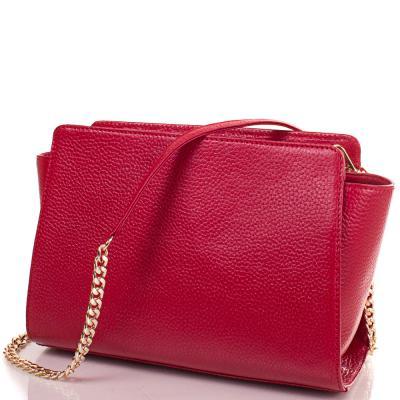 Женская кожаная сумка-клатч VALENTA (ВАЛЕНТА) VBE615483 Valenta