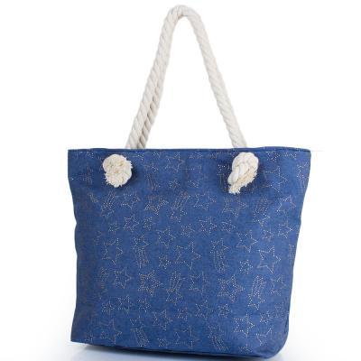 Женская пляжная джинсовая сумка ETERNO (ЭТЕРНО) DCA-003-02 Eterno