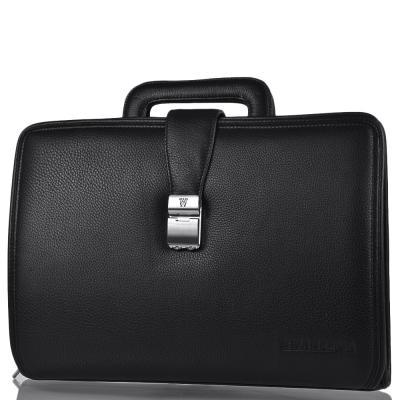 Портфель кожаный мужской WANLIMA (ВАНЛИМА) W62015010913-black Wanlima