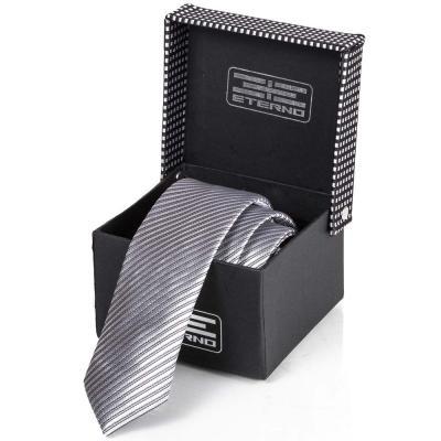 Мужской шелковый галстук ETERNO (ЭТЕРНО) ETEG675 Eterno