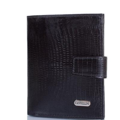 Мужской кожаный кошелек CANPELLINI (КАНПЕЛЛИНИ) SHI1102-8 Canpellini