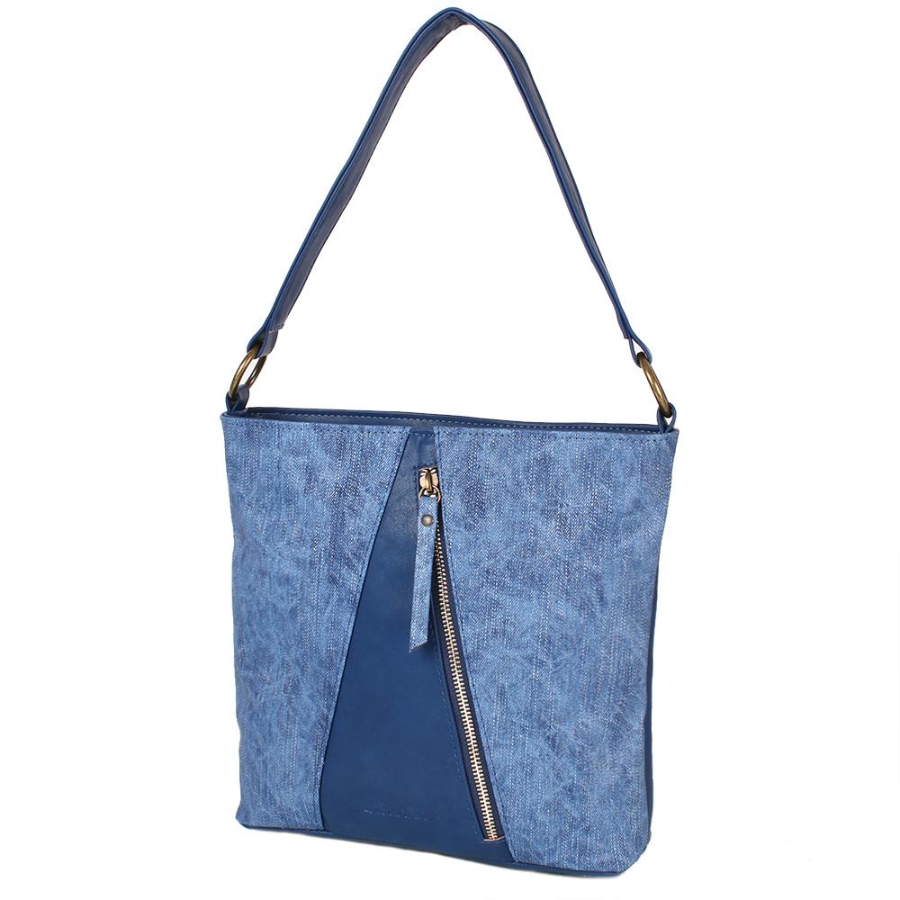 a48447ab732c Женская сумка из качественного кожезаменителя LASKARA (ЛАСКАРА)  LK10197-denim-blue купить в Киеве - интернет магазин Trade-City: лучшие  цены и фото!