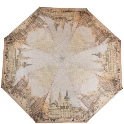 Зонт женский компактный полуавтомат ZEST (ЗЕСТ) Z24665-5078 Zest