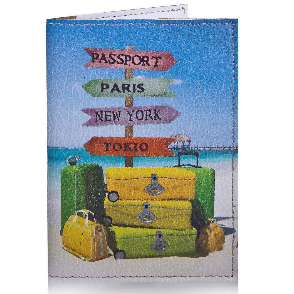Женская обложка для паспорта PASSPORTY (ПАСПОРТУ) KRIV026 Passporty