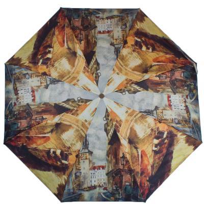 Зонт женский компактный полуавтомат ZEST (ЗЕСТ) Z24665-4001 Zest