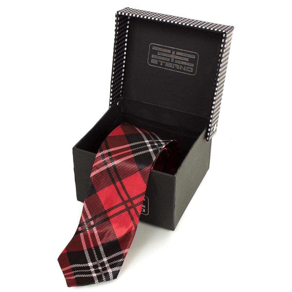 Мужской шелковый галстук ETERNO (ЭТЕРНО) EG614 Eterno