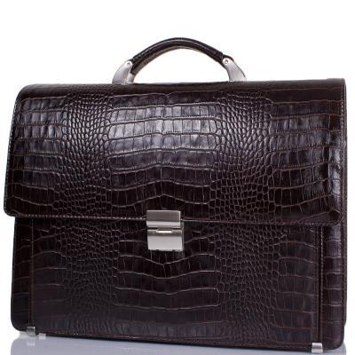 Портфель мужской кожаный  DESISAN (ДЕСИСАН) SHI319-19-10KR Desisan