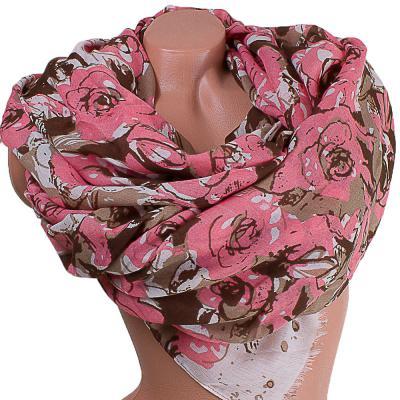 Женский хлопковый шарф 184 на 85 см  ETERNO (ЭТЕРНО) ES0908-13-1-Y Eterno