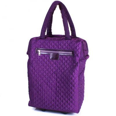 Дорожная сумка на 4-х колесах  ETERNO (ЭТЭРНО) TU9332-violet Eterno