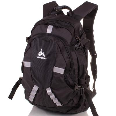 Мужской рюкзак ONEPOLAR (ВАНПОЛАР) W1017-balck Onepolar
