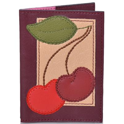 Женская кожаная обложка для паспорта от Елены Юдкевич UNIQUE U (ЮНИК Ю) U2516603 Unique U