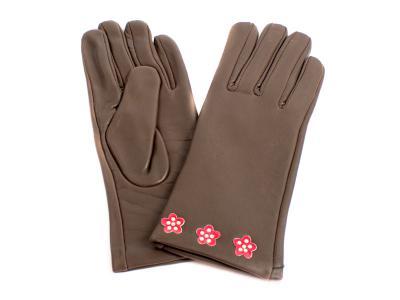 Перчатки женские кожаные ETERNO (ЭТЕРНО) E2512-Y Eterno