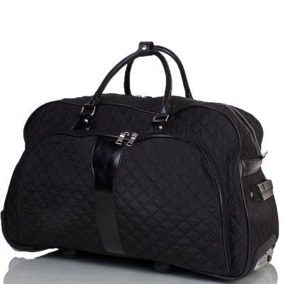 Дорожная сумка большая на 2-х колесах  ETERNO (ЭТЭРНО) TU9089L-black Eterno