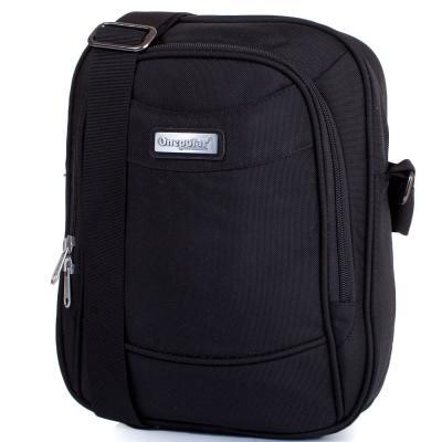 Мужская спортивная сумка ONEPOLAR (ВАНПОЛАР) W5205-black Onepolar