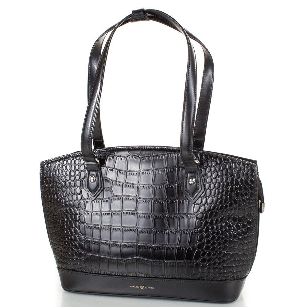 Женская кожаная сумка WANLIMA (ВАНЛИМА) W22209480138 Wanlima