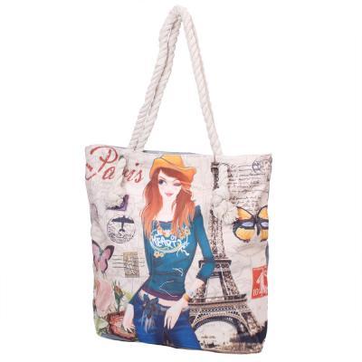 26026220ad24 Женская пляжная тканевая сумка ETERNO (ЭТЕРНО) DET1808-6 купить в ...
