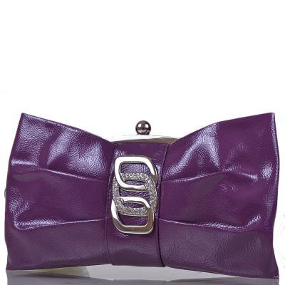 Клатч женский вечерний из кожезаменителя ETERNO (ЭТЕРНО) MASS38581-violet 33082