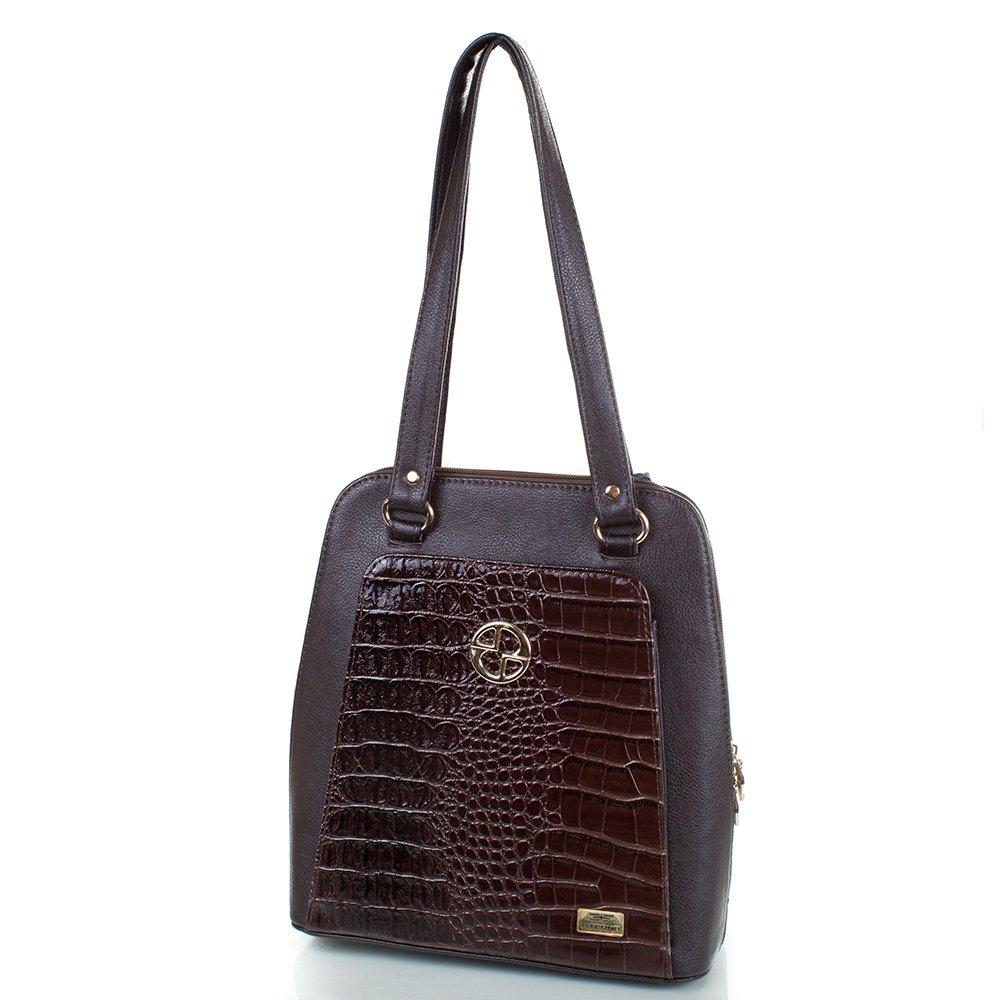 Женская сумка-рюкзак из качественного кожезаменителя ETERNO (ЭТЕРНО) ETMS35203-10 Eterno