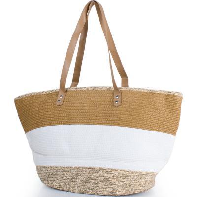 Женская пляжная соломенная сумка ETERNO (ЭТЕРНО) DCP-05-01 Eterno
