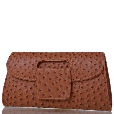 Клатч женский вечерний из кожезаменителя ETERNO (ЭТЕРНО) MASS382018-brown 33044