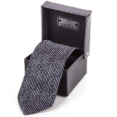 Мужской широкий шелковый галстук ETERNO (ЭТЕРНО) ETEG677 Eterno