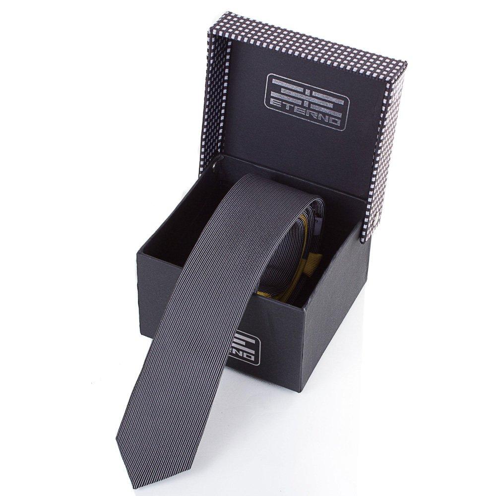Мужской узкий шелковый галстук ETERNO (ЭТЕРНО) EG605 Eterno
