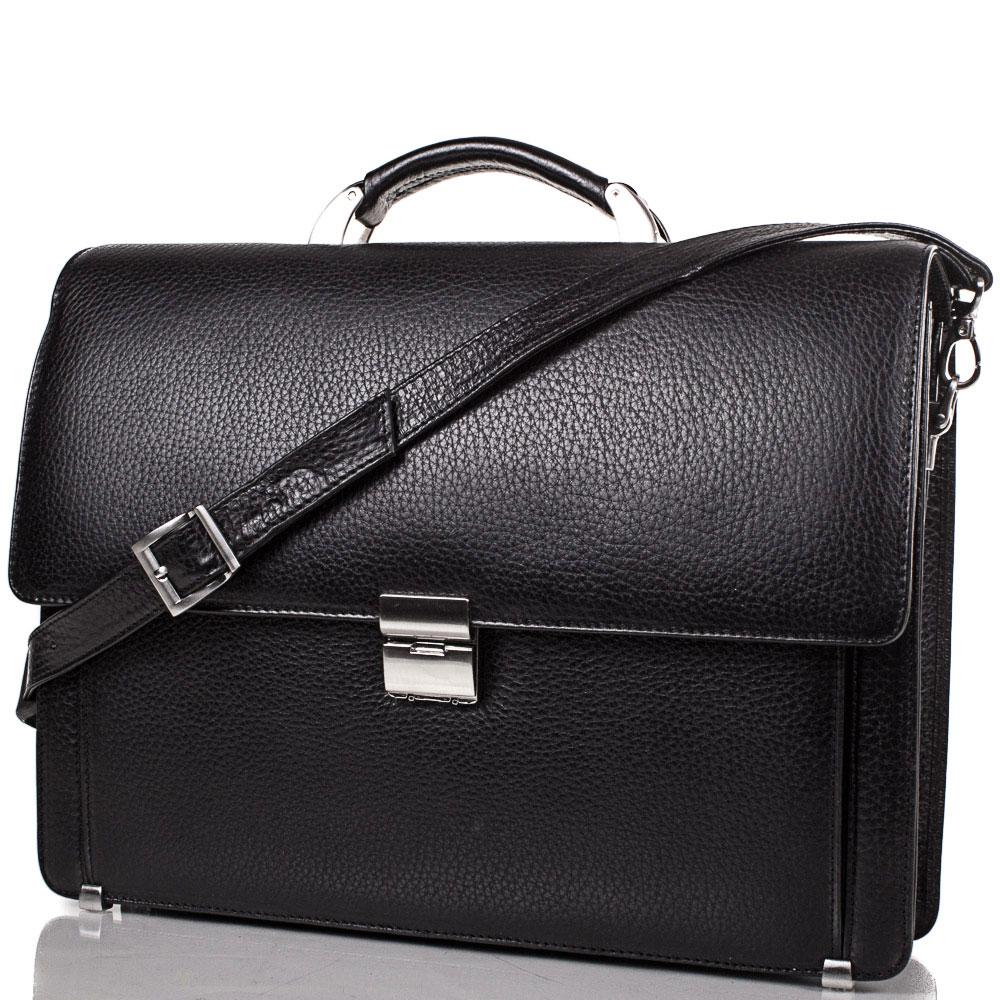 Портфель мужской кожаный  DESISAN (ДЕСИСАН) SHI319-2FL Desisan