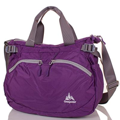 Женская спортивная сумка через плечо ONEPOLAR (ВАНПОЛАР) W5220-violet Onepolar