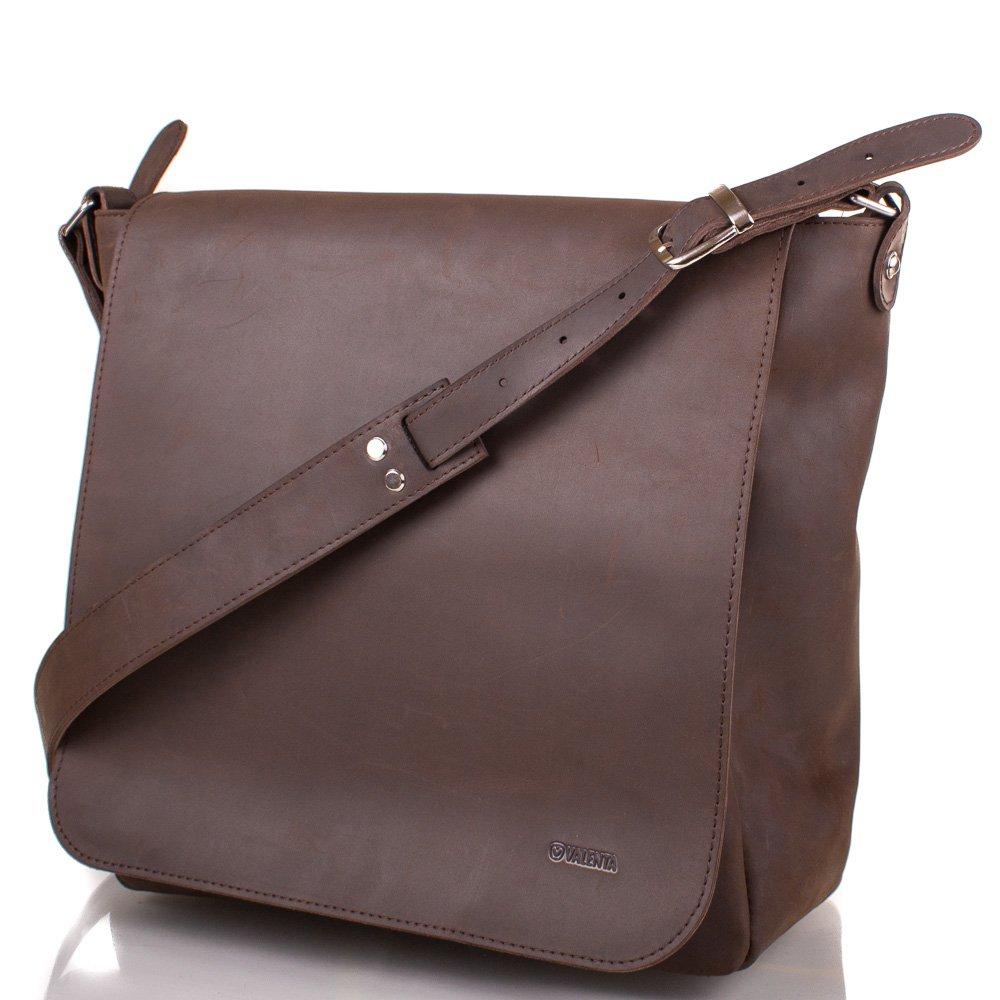 2411604a9e35 Мужская кожаная сумка через плечо VALENTA (ВАЛЕНТА) BM7021610 купить ...