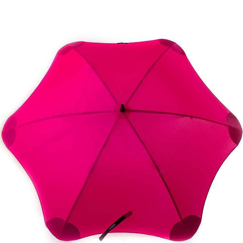 Купить:  Противоштормовой зонт-трость женский механический с большим куполом BLUNT (БЛАНТ) Bl-classic-pink Blunt