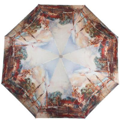 Зонт женский компактный полуавтомат ZEST (ЗЕСТ) Z24665-4054 Zest