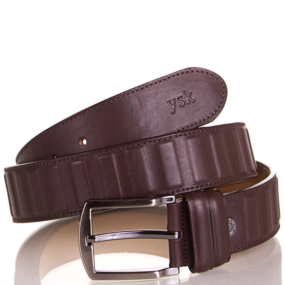 Ремень мужской кожаный Y.S.K. (УАЙ ЭС КЕЙ) SHI4041-10 Y.S.K