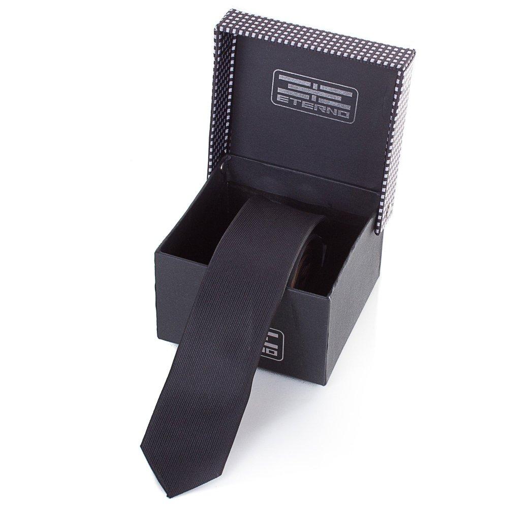 eterno Мужской узкий шелковый галстук ETERNO (ЭТЕРНО) EG611