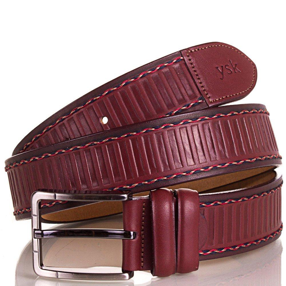 Ремень мужской кожаный Y.S.K. (УАЙ ЭС КЕЙ) SHI4085-17 Y.S.K