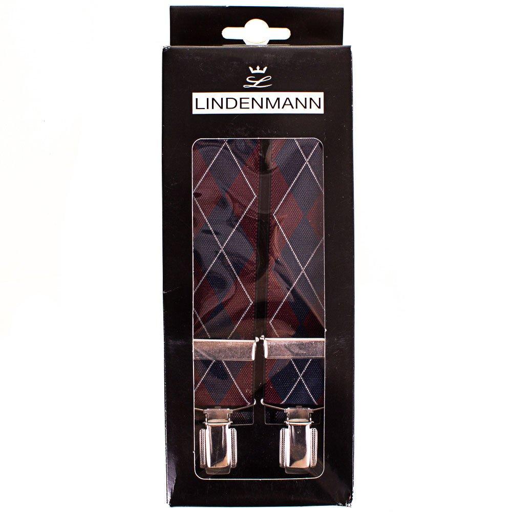 Подтяжки мужские LINDENMANN (ЛИНДЕНМАН) FARE8600-02 Lindenmann