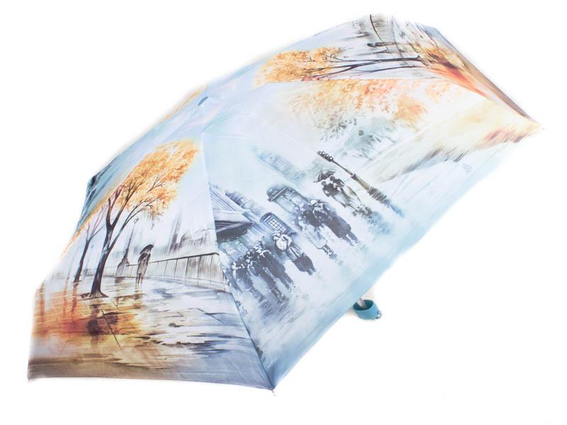 Зонт женский облегченный компактный механический ZEST (ЗЕСТ) Z25515-10 Zest