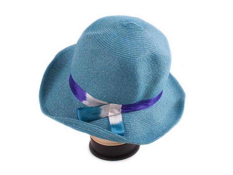 Шляпа женская ETERNO (ЭТЕРНО) EH-47-blue Eterno