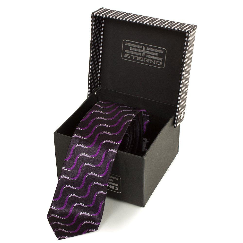 eterno Мужской узкий шелковый галстук ETERNO (ЭТЕРНО) EG615