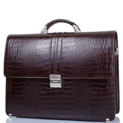 """Кожаный мужской портфель с отделением для ноутбука с диагональю экрана до 12,6"""" DESISAN (ДЕСИСАН) SHI317-19 Desisan"""