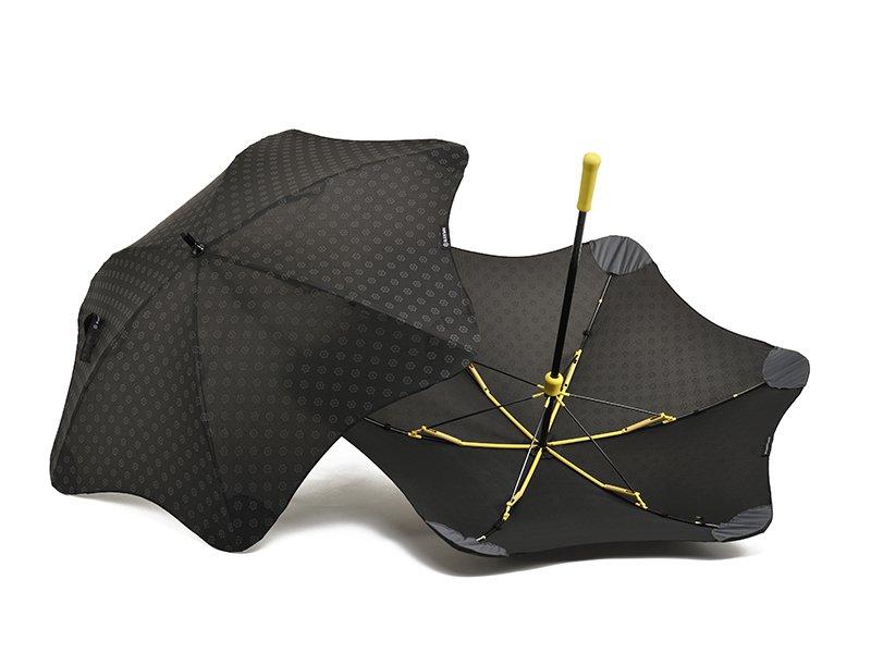 Противоштормовой зонт-трость женский механический BLUNT (БЛАНТ) Bl-mini-plus-yellow Blunt