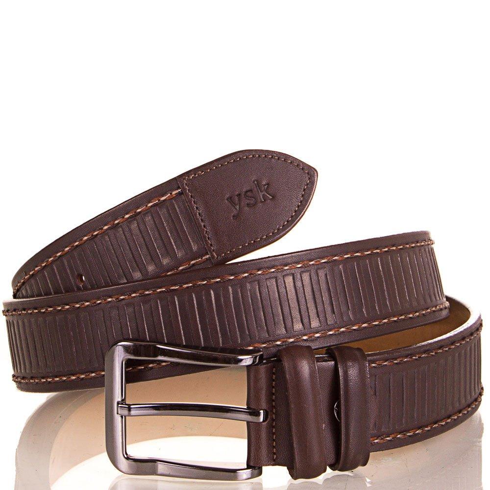 Ремень мужской кожаный Y.S.K. (УАЙ ЭС КЕЙ) SHI4085-10 Y.S.K