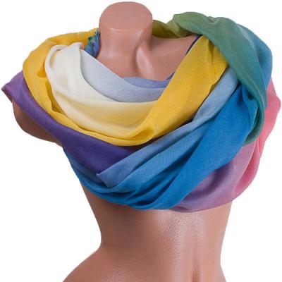 Женский хлопковый шарф 184 на 86 см  ETERNO (ЭТЕРНО) ES0908-5-2-Y Eterno