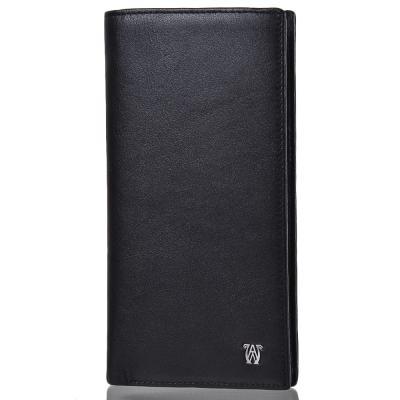 Кожаный женский кошелек WANLIMA (ВАНЛИМА) W31508508595-black Wanlima