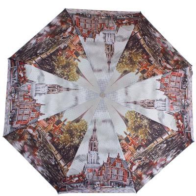 Зонт женский компактный полуавтомат ZEST (ЗЕСТ) Z24665-5038 Zest