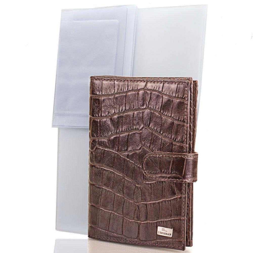 Мужской кожаный  органайзер для документов DESISAN (ДЕСИСАН) SHI102-19 Desisan