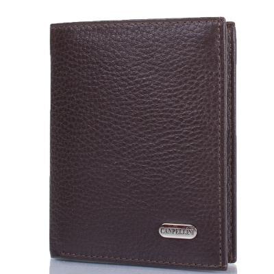 Мужской кожаный кошелек CANPELLINI (КАНПЕЛЛИНИ) SHI1101-14 Canpellini